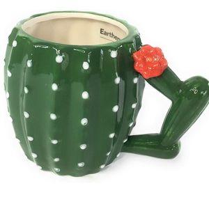 Earthenware Figural Collectors Cactus Mug